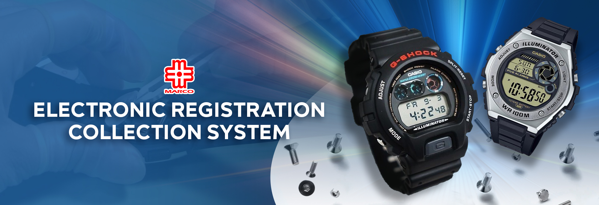 Electronic Registration Collection System