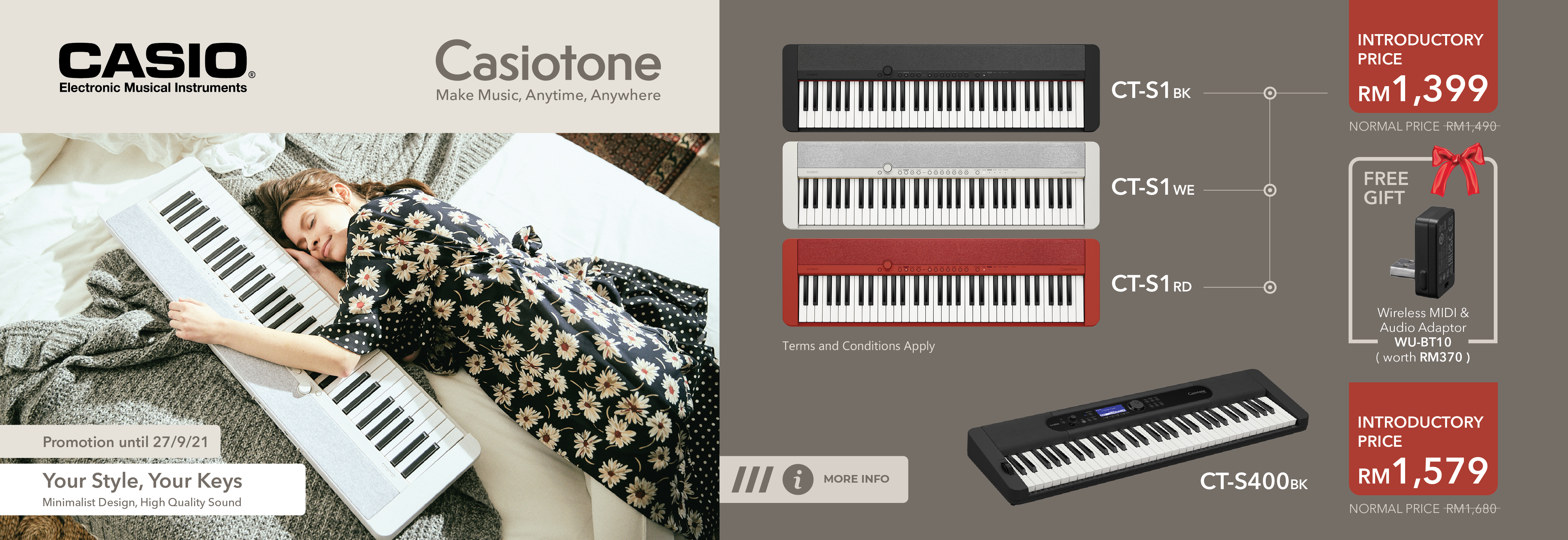 New Casiotone Intro Promo