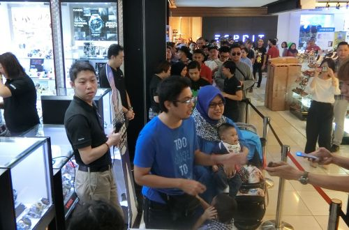 Meet and Greet with the Father of G-shock @ G-Factory Dataran Pahlawan