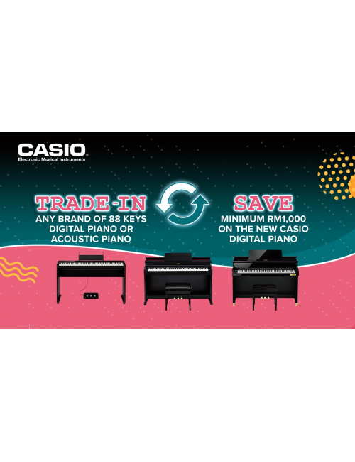 Casio Musical Instruments-Casio Digital Piano/ Acoustic piano Trade In Program